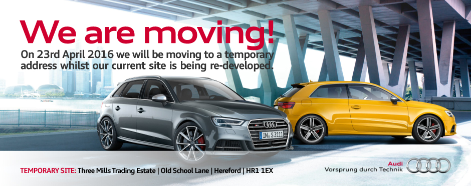 Audi South Hereford Temporary Site BB