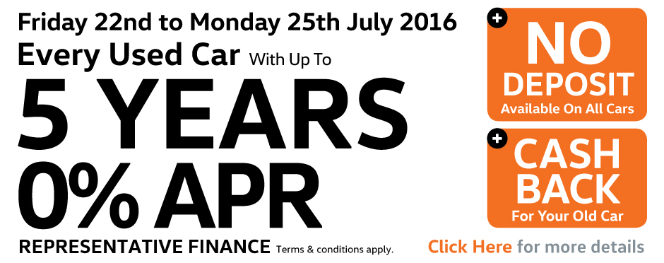 5 Years 0% APR Event - SHG Volkswagen