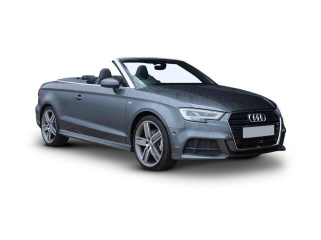 Audi A3 50 S3 Tfsi Quattro 2Dr S Tronic Petrol Cabriolet