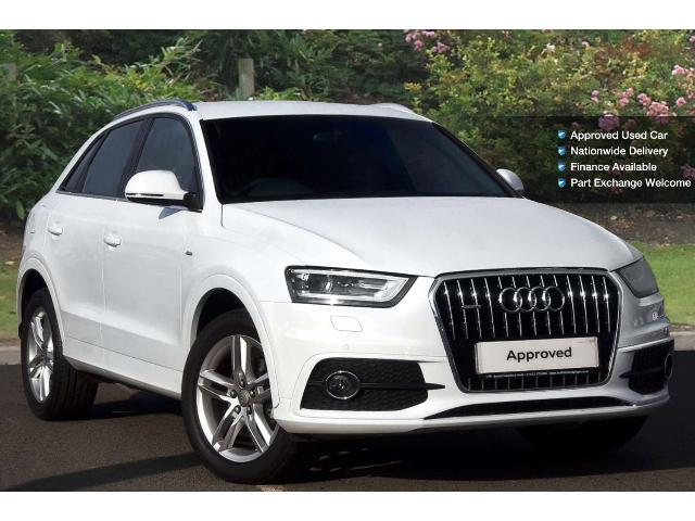 used audi q3 2 0 tdi 177 quattro s line 5dr s tronic diesel estate for sale south hereford. Black Bedroom Furniture Sets. Home Design Ideas