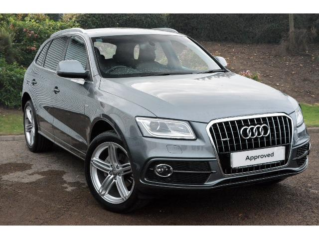 used audi q5 2 0 tdi quattro s line plus 5dr diesel estate for sale south hereford garages. Black Bedroom Furniture Sets. Home Design Ideas