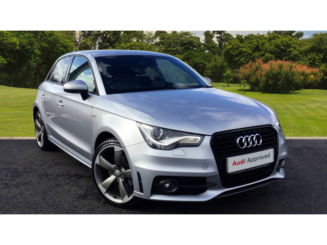 used audi a1 1 4 tfsi 185 black edition 5dr s tronic. Black Bedroom Furniture Sets. Home Design Ideas