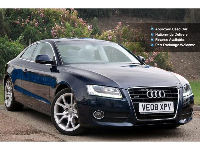 used audi a5 3 0 tdi quattro sport 2dr diesel coupe for sale south hereford garages. Black Bedroom Furniture Sets. Home Design Ideas