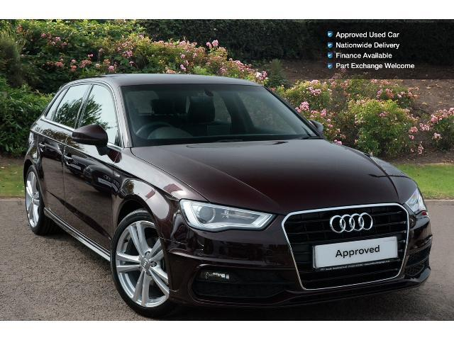 used audi a3 2 0 tdi s line 5dr nav diesel hatchback for sale south hereford garages. Black Bedroom Furniture Sets. Home Design Ideas