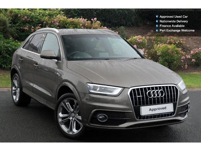 used audi q3 2 0 tdi 177 quattro s line plus 5dr s. Black Bedroom Furniture Sets. Home Design Ideas