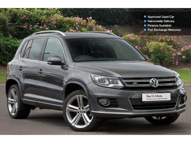 used volkswagen tiguan 2 0 tdi bluemotion tech r line edition 184 5dr dsg diesel estate for sale. Black Bedroom Furniture Sets. Home Design Ideas