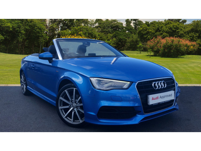 used audi a3 1 4 tfsi 150 s line 2dr petrol cabriolet for sale south hereford garages. Black Bedroom Furniture Sets. Home Design Ideas