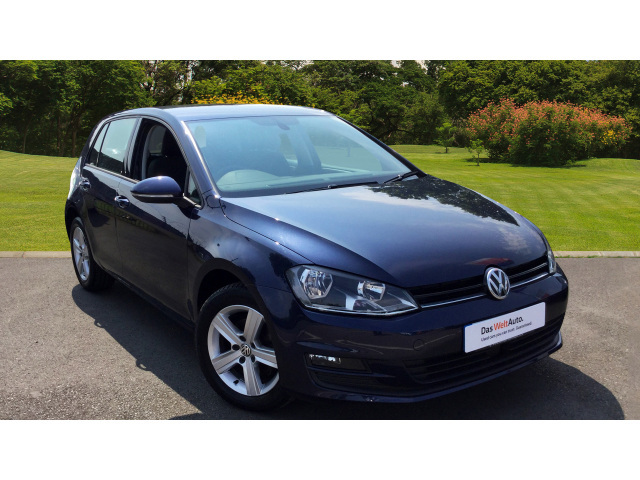Used Volkswagen Golf 1 6 Tdi 105 Match 5dr Dsg Diesel Hatchback For