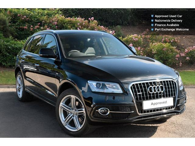 used audi q5 2 0 tdi 190 quattro s line plus 5dr s tronic diesel estate for sale south. Black Bedroom Furniture Sets. Home Design Ideas