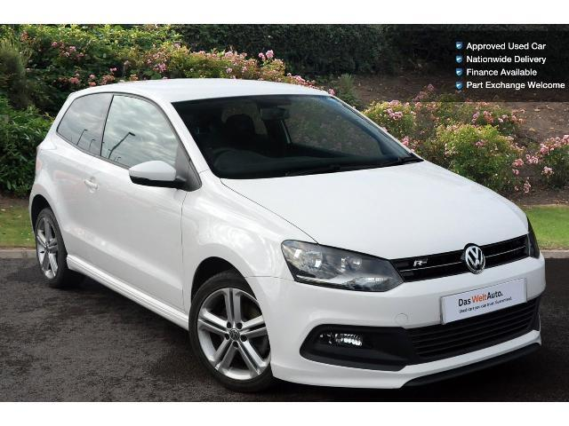 used volkswagen polo 1 2 tsi 105 r line 3dr petrol hatchback for sale south hereford garages. Black Bedroom Furniture Sets. Home Design Ideas