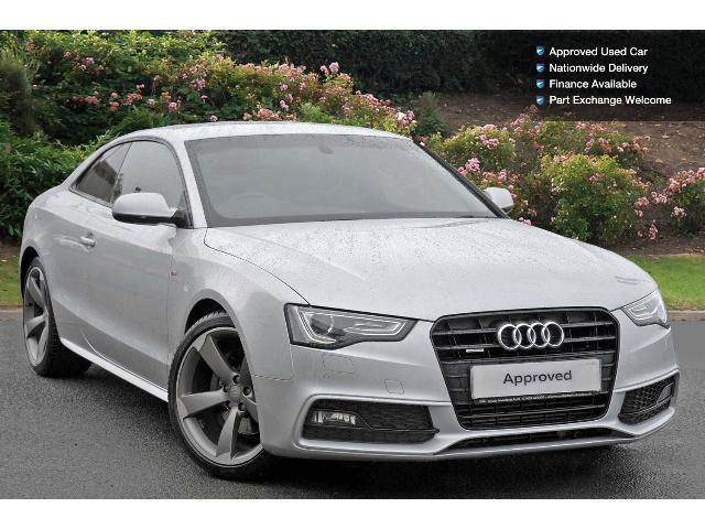 used audi a5 3 0 tdi 245 quattro black edition 2dr s tronic diesel coupe for sale south. Black Bedroom Furniture Sets. Home Design Ideas